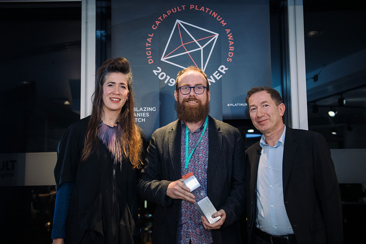 axial3d digital catapult platinum award